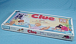 Clue, Little Detective Game, Parker Brothers, 1992