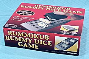 Rummikub Rummy Dice Game, Pressman, 1995 (Image1)