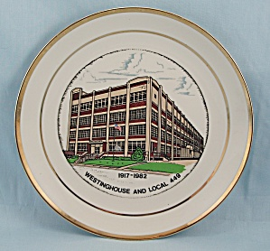 Westinghouse Collector Plate, 1917-1982, Local 449