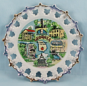 State Of Georgia - Collector Plate