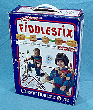 Fabulous Fiddlestix, 90 Piece Classic American Rod And Connector Toy, 1994