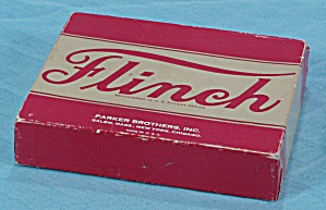 Flinch Card Game, Parker Brothers, 1938