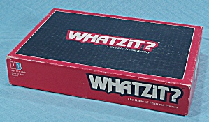 Whatzit? Game, Milton Bradley, 1987