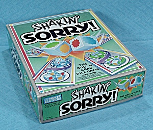 Shakin' Sorry Game, Parker Brothers, 1992