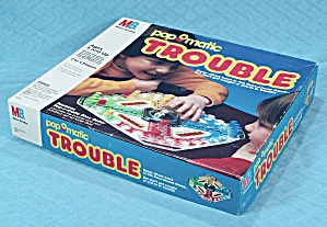 Pop-o-matic Trouble, Milton Bradley, 1993