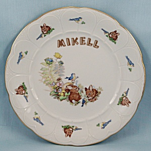 Bareuther � Bavaria, Germany � Bunny Plate (Image1)