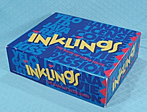 "Inklings, ""the Game Of Little Hints"", Mattel, 1993"