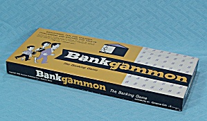 Bankgammon Game, American Publishing, 1963