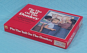 Pin The Tail On The Donkey, Western Publishing Co., 1981