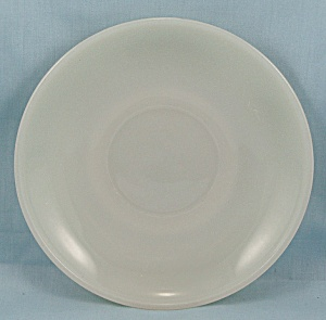 Fire King Saucer, Ivory (Image1)