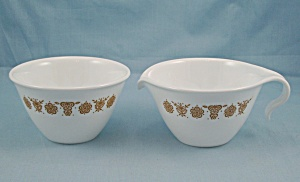 Corning/ Corelle - Cream & Sugar � Butterfly Gold Pattern (Image1)