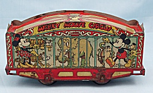 1930's Disney, Lionel Mickey Mouse Circus Train Car (Image1)