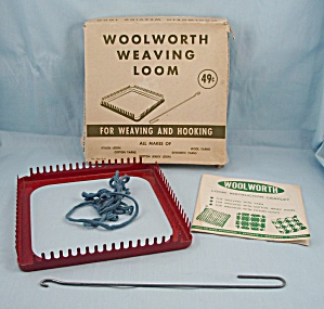 Weaving Loom, Box & Instructions � Woolworth (Image1)