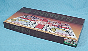 Parcheesi, Deluxe Edition, Selchow And Righter Co., 1982