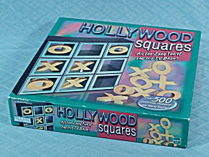 Hollywood Squares, Parker Brothers, 1999