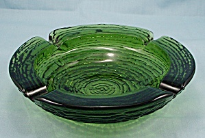 Anchor Hocking � Soreno � Avocado, Green � Ashtray (Image1)