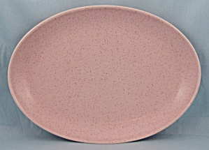 Monterey � Made In California � Pink Speckled Oval Platter (Image1)