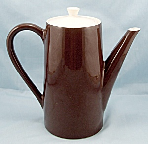 Royal U.S.A. � Brown Coffee Pot & Lid (Image1)