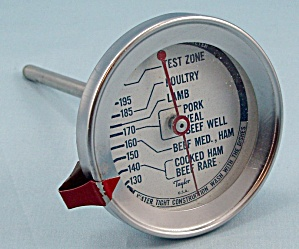 Taylor - Roast Meat Thermometer / Round Face 	 (Image1)