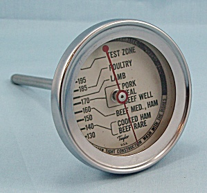 Taylor Roast Meat Thermometer / Round Face #2	 (Image1)