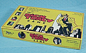 The Dick Tracy Game, University Games, 1990