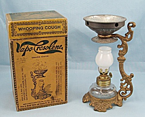 Vintage Vapo-Cresolene Vaporizer Lamp with Box #2 (Image1)