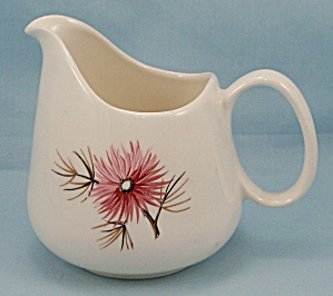 Knowles China - Coral Pine Cream Pitcher/ Creamer           (Image1)