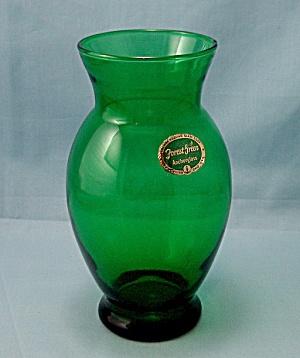 Anchor Hocking – Forest Green Vase (Image1)