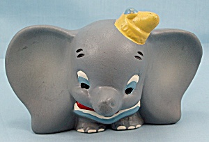 Walt Disney, Dumbo, Bisque Toothbrush Holder