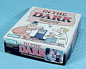 In The Dark Game, Parker Brothers, 1989