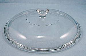 Pyrex 624 C, Corning Glass, Replacement Lid – Crystal / Round – 8-1/4 Inch (Image1)