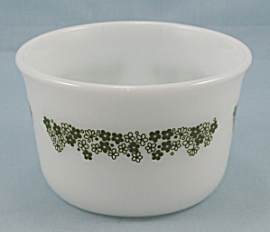 Corning - Spring Blossom Green - Margarine Dish, Butter Tub