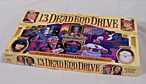 13 Dead End Drive Game #3, Milton Bradley, 1993