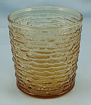 Anchor Hocking - Soreno - Harvest Gold Tumbler - 1960's