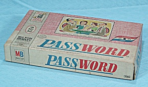 Password Game, Volume 3, Milton Bradley, 1963