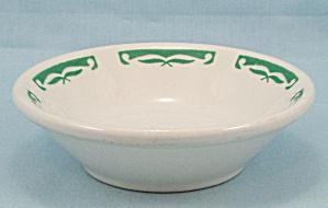 Homer Laughlin Small Bowl – Green Rim Trim (Image1)