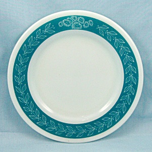 Pyrex - Autumn Bands, Turquoise -bread & Butter Plate