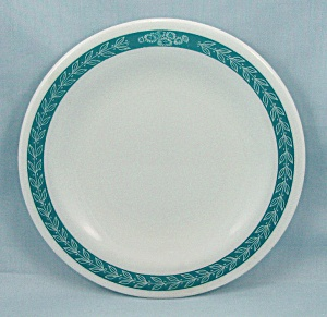 Corning, Decor - Autumn Bands, Turquoise -bread & Butter Plate
