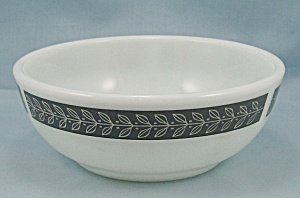 Corning – Autumn Bands, Gray –Bowl	 (Image1)