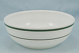 Corning – Two Green Lines –Bowl (Image1)