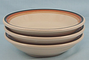 Sterling China – Desert Tan – Three Small Bowls (Image1)