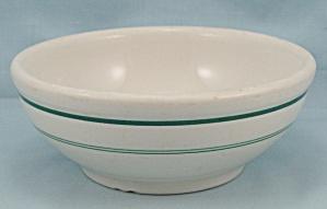 Shenango China Bowl – Green Lines (Image1)
