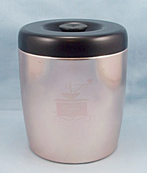 West Bend Coffee Canister, Coppertone (Image1)