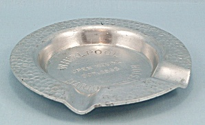 Whirlpool - Hammered Aluminum Ashtray - 1965 Marion Division