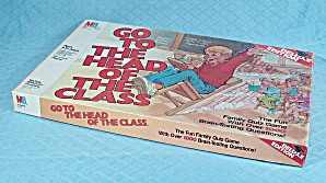 Go To The Head Of The Class, Deluxe Edition Game, Milton Bradley, 1986