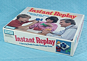 Instant Replay Game, Parker Brothers, 1987