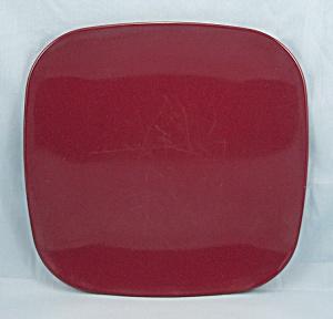 Brookpark Plate � Modern Design � Maroon (Image1)