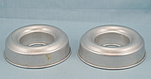 Two Small Aluminum Jell-O / Food Mold Rings (Image1)