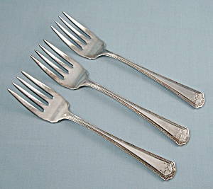 E P N S – Adam -  Three,  Salad Forks	 (Image1)