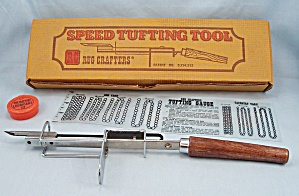 Tufting Tool, Hooking Needle, Pat�D.  Rug Crafters (Image1)